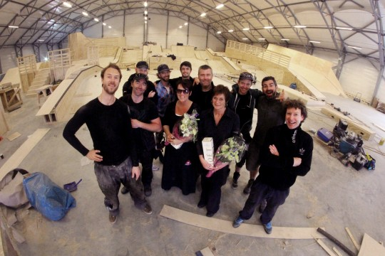 The best skatepark building company in the world