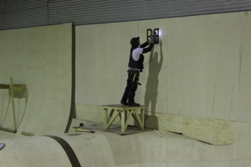 Worlds best skatepark builders.