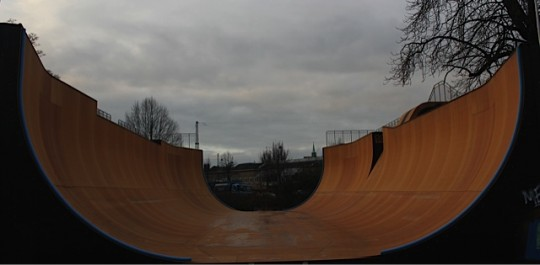 The biggest and gnarliest vert ramp in Europe